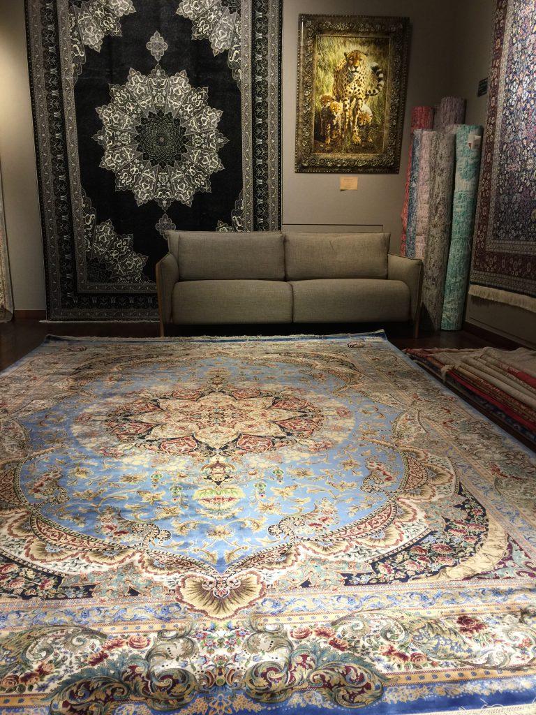 グランデシルク絨毯 340×240