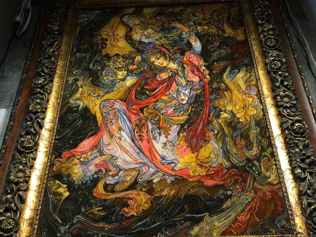 イラン,絨毯,絵画,美しい,感動,静岡,呉服町,パシャ,アートライン