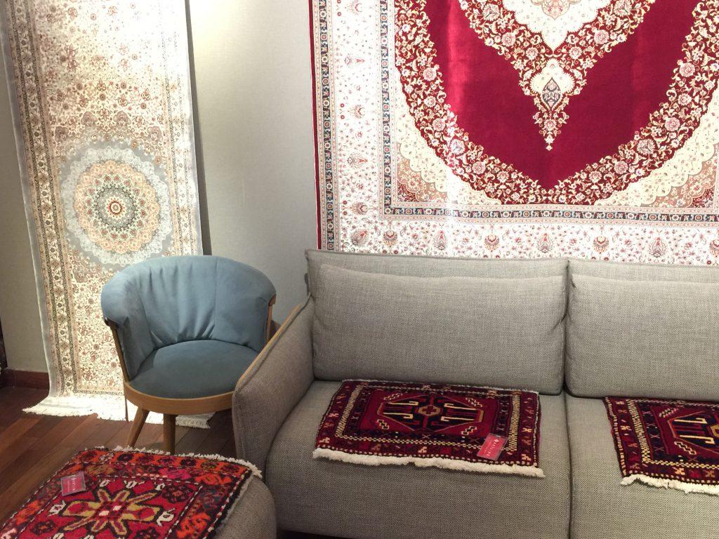 イラン,ベシキ,オールド,敷物,マット,静岡,呉服町,パシャ,アートライン,羊毛,手織り,美しい,カッコ良い