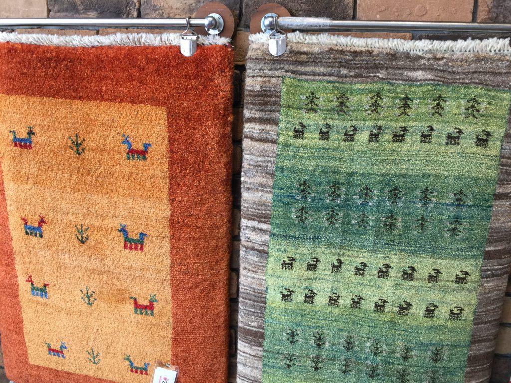 ギャッベ,手織り,イラン,大人羊,仔羊,羊毛,手織り,静岡,呉服町,パシャ,アートライン