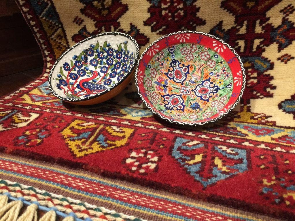 トルコ,陶器,ウール,草木染,敷物
