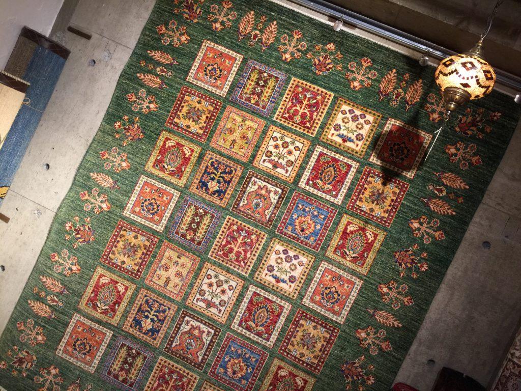 絨毯,アゼルバイジャン,美しい,うっとり,パシャ,アートライン