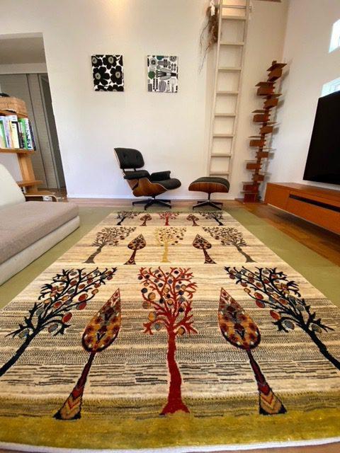ギャッベ,手織り,イラン,ギャッベのある暮らし,素敵なお部屋