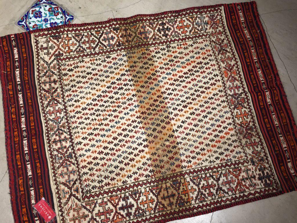イランオールドキリム ソフラ 132×99